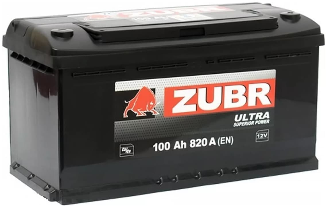 Аккумулятор Зубр Ultra R+ (100Ah)