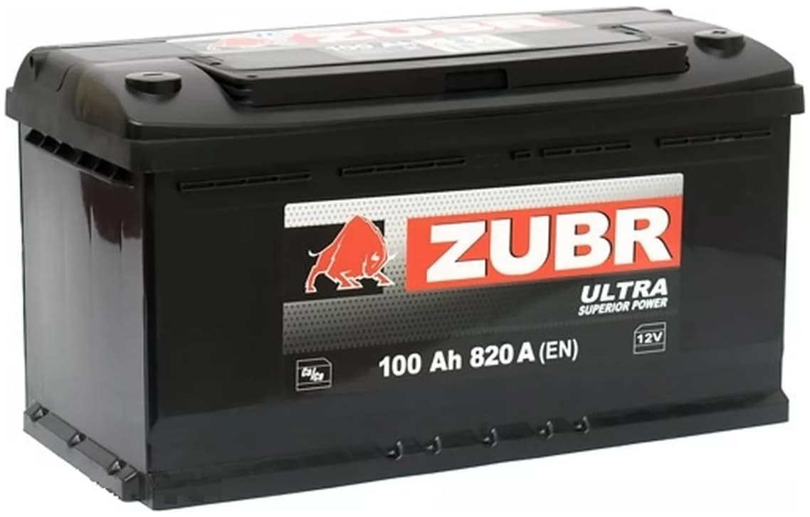 Аккумулятор Зубр Ultra R+ (90Ah)