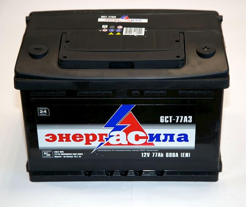 Аккумулятор Энергасила R+ (77Ah)