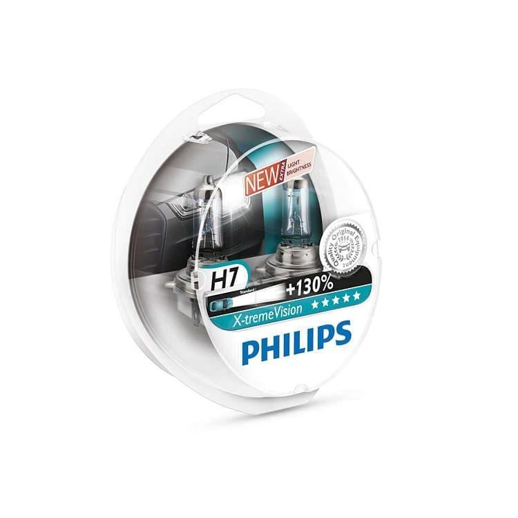 Лампа галогенная Philips H7 X-Treme Vision 2шт