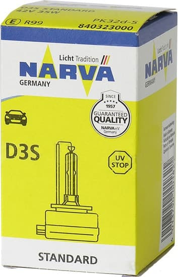 Лампа ксеноновая Narva  D3S 1шт