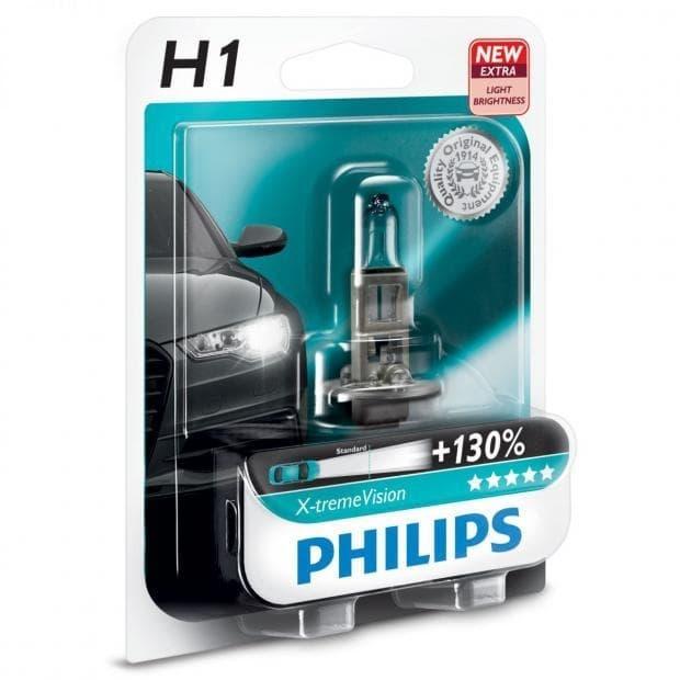 Лампа галогенная Philips H1 X-Treme Vision 1 шт