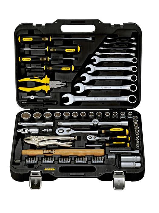 Универсальный набор инструментов Berger 78 предметов BG078-1214
