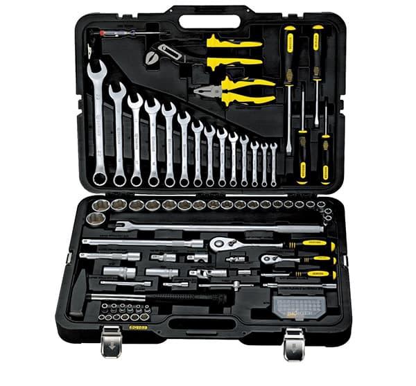 Универсальный набор инструментов Berger 102 предмета BG102-1214