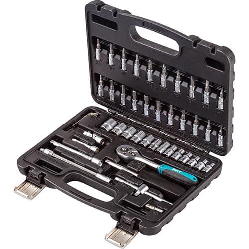 Универсальный набор инструментов Bort 46 предметов BTK-46