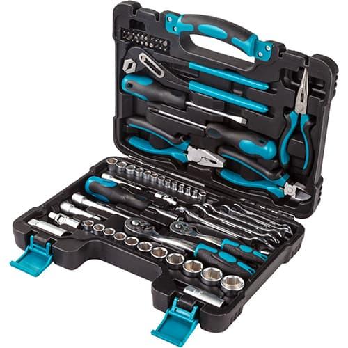 Универсальный набор инструментов Bort 65 предметов BTK-65