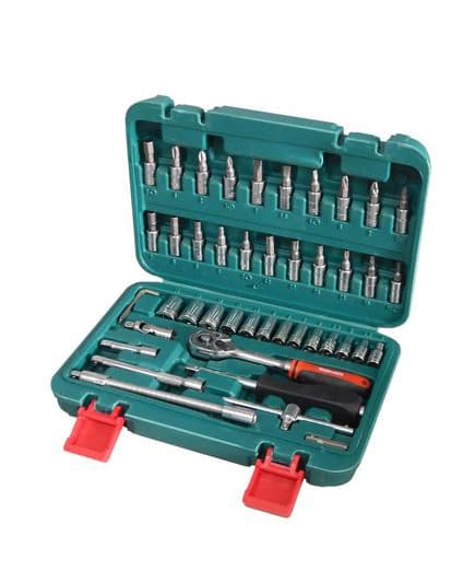 Универсальный набор инструментов Braumauto 46 предметов BR-46