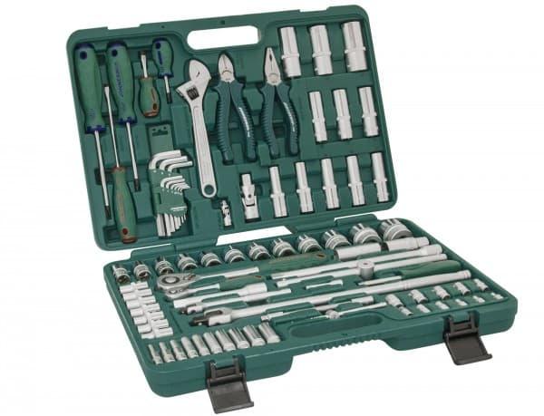 Универсальный набор инструментов Jonnesway 83 предмета S04H52483S