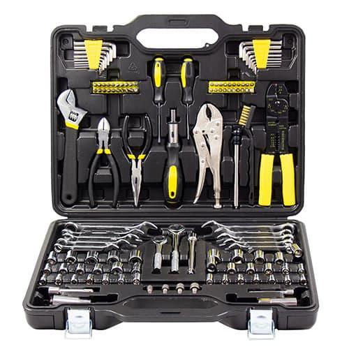 Универсальный набор инструментов Kolner 123 предмета KTS123