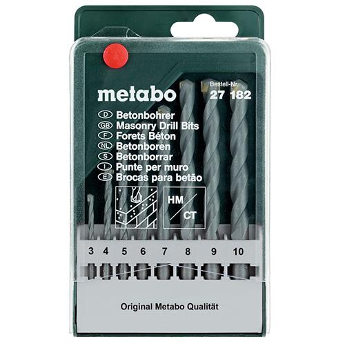 Набор оснастки Metabo 8 предметов 627182000