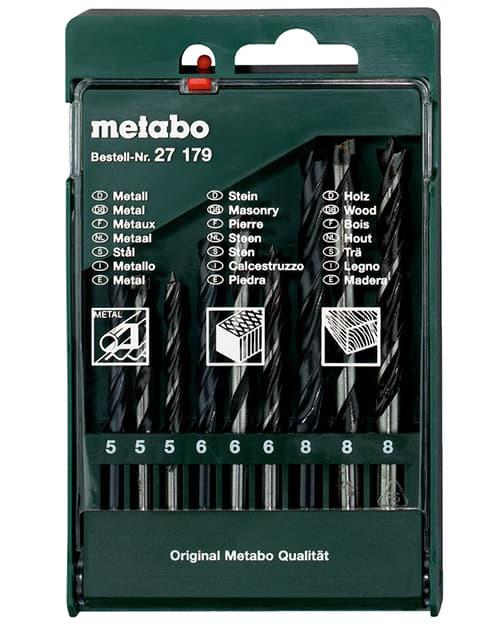 Набор оснастки Metabo 9 предметов 627179000