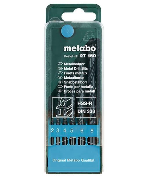 Набор оснастки Metabo 6 предметов 627160000