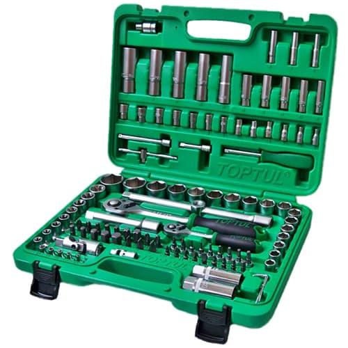 Универсальный набор инструментов Toptul 108 предметов GCAI108R