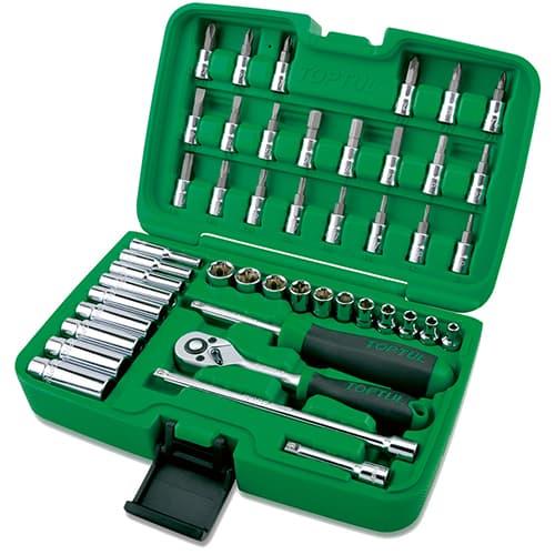 Универсальный набор инструментов Toptul 46 предметов GCAI4601