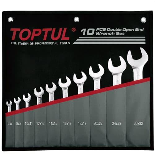 Набор ключей Toptul 10 предметов GPCJ1001