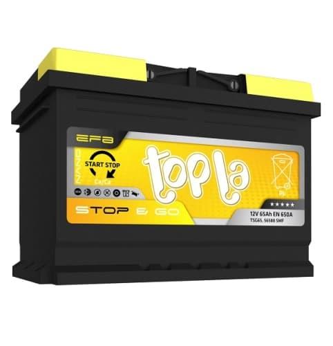 Аккумулятор Topla EFB STOP&GO R+ (65 А/ч)