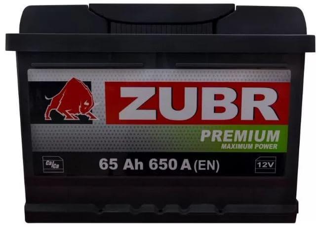 Аккумулятор Зубр Premium New L+ (65Ah)