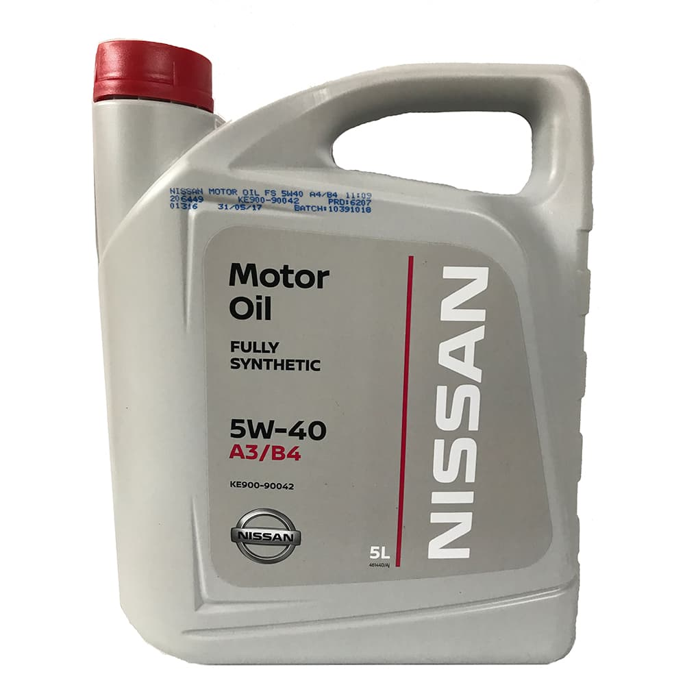 Моторное масло Nissan 5W-40 5л