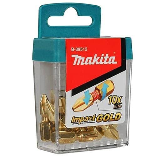 Набор бит Makita 15 предметов B-39512-10