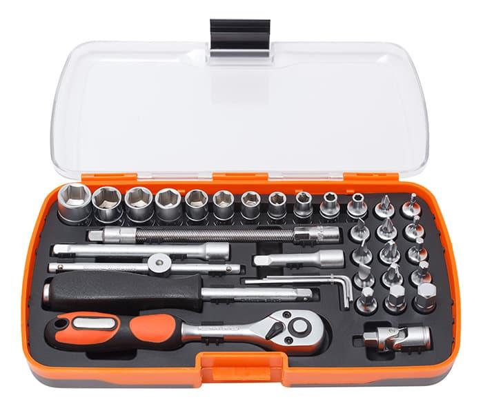 Универсальный набор инструментов Partner 35 предметов PA-6035
