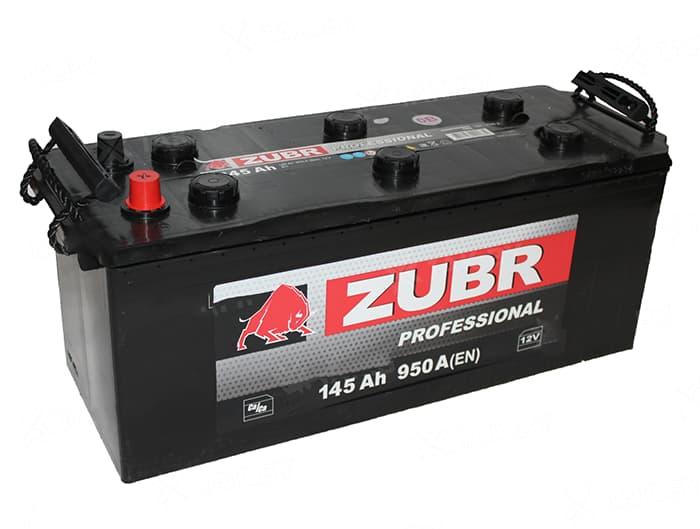 Аккумулятор Зубр Professional New L+ (145Ah)