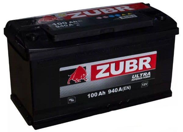 Аккумулятор Зубр Ultra New L+ (100Ah)
