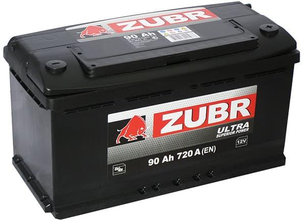 Аккумулятор Зубр Ultra New L+ (90Ah)