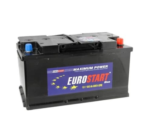 Аккумулятор Eurostart Blue Asia L+ (100 А/ч)