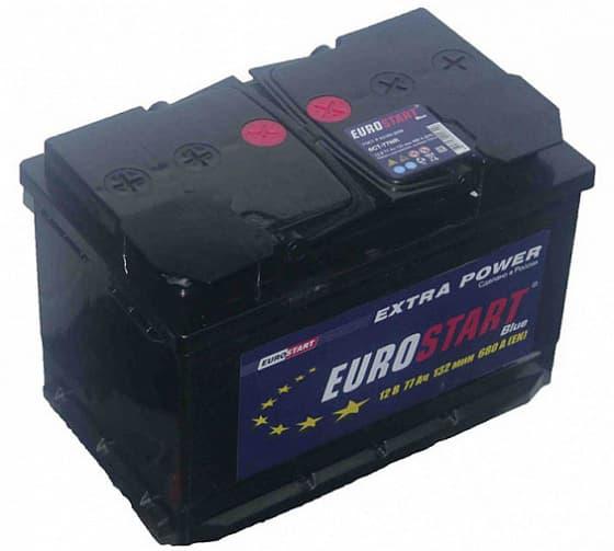 Аккумулятор Eurostart blue R+ (77 А/h)