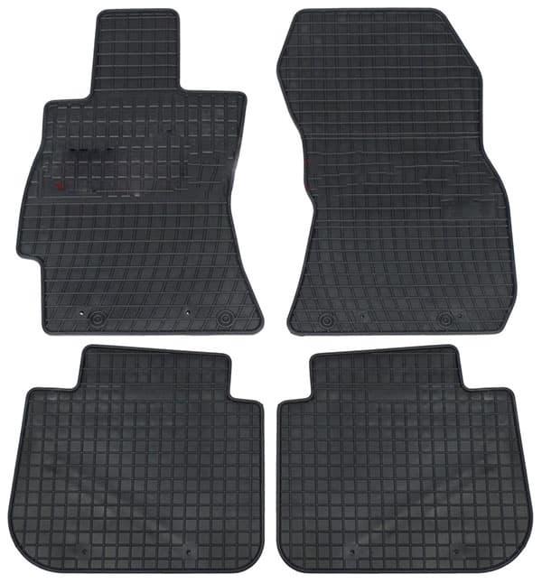 Ковры для Subaru Legacy V (09-14) / Outback (09-) / Forester IV (13-) Frogum