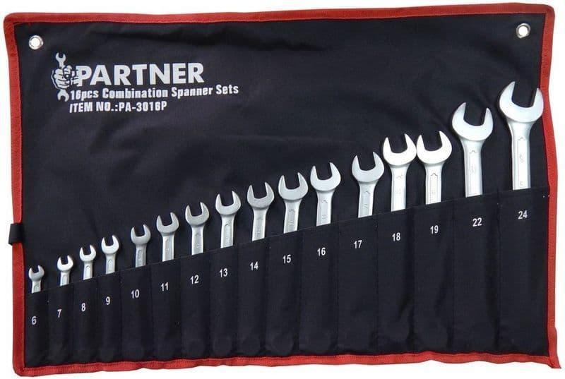 Набор ключей Partner 16 предметов PA-3016P