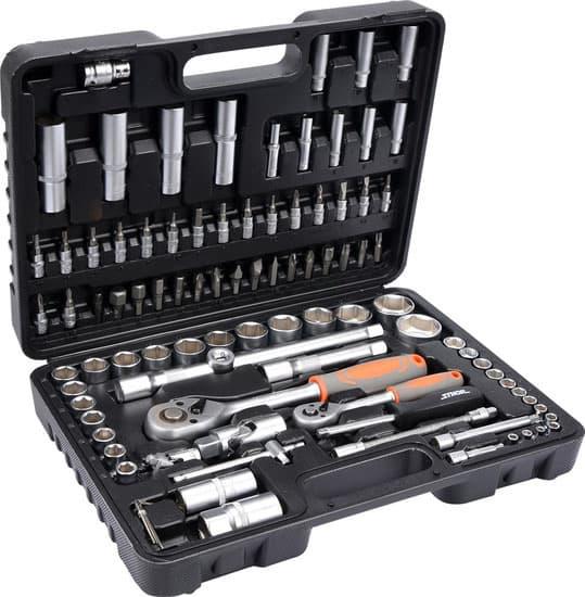 Универсальный набор инструментов Sthor 94 предмета 58687