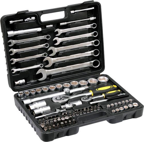 Универсальный набор инструментов Vorel 82 предмета 58686