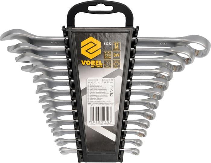 Набор ключей Vorel 12 предметов 51722