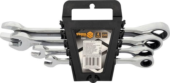 Набор ключей Vorel 4 предмета 52661