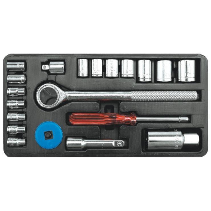 Универсальный набор инструментов Vorel 21 предмет 58210