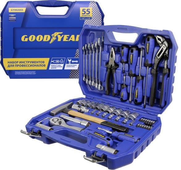 Универсальный набор инструментов Goodyear 55 предметов GY002055