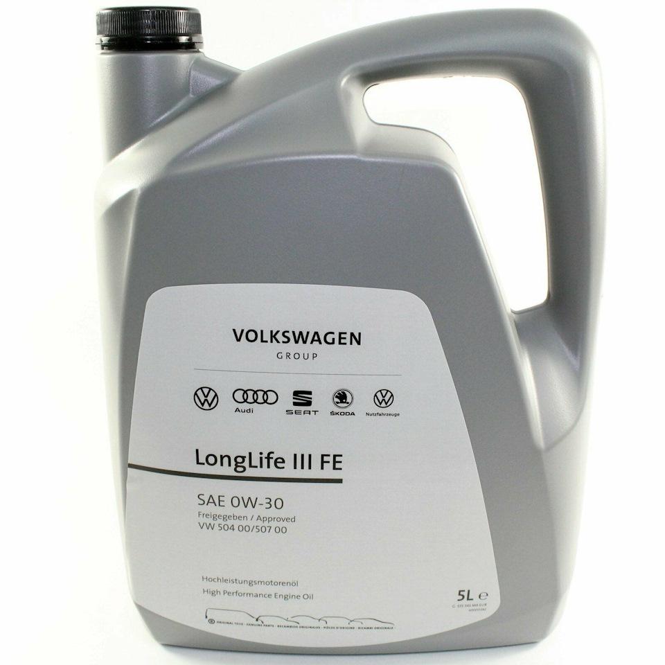 Моторное масло VAG Longlife III 0W-30 5л