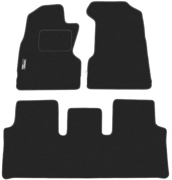 Ковры ворсовые для Honda CRV II (02-06) Duomat