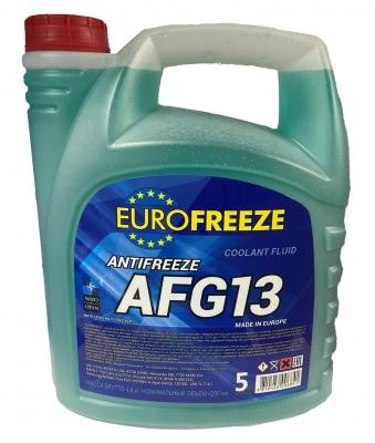Антифриз Eurofreeze AFG 13 -40C  (4.8кг, зеленый)