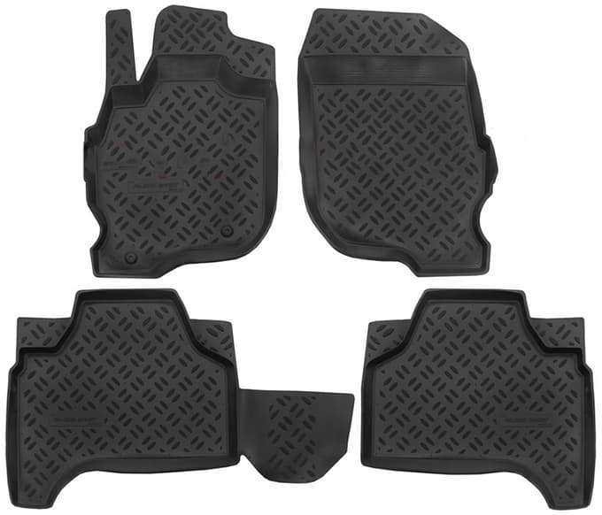 Ковры для Mitsubishi Pajero Sport (08-15) Aileron