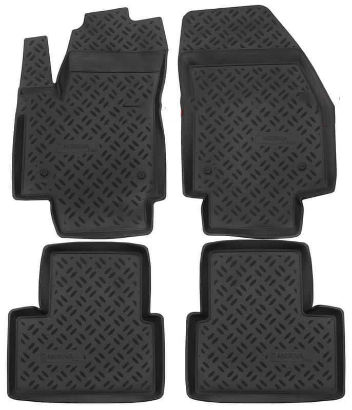 Ковры для Opel Meriva B (10-11, 12-) Aileron