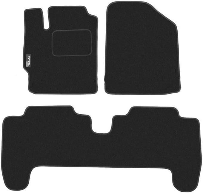Ковры ворсовые для Toyota Yaris II (05-12) Duomat