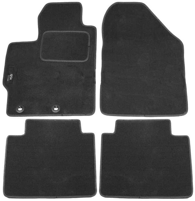 Ковры ворсовые для Toyota Yaris III (11-) Duomat