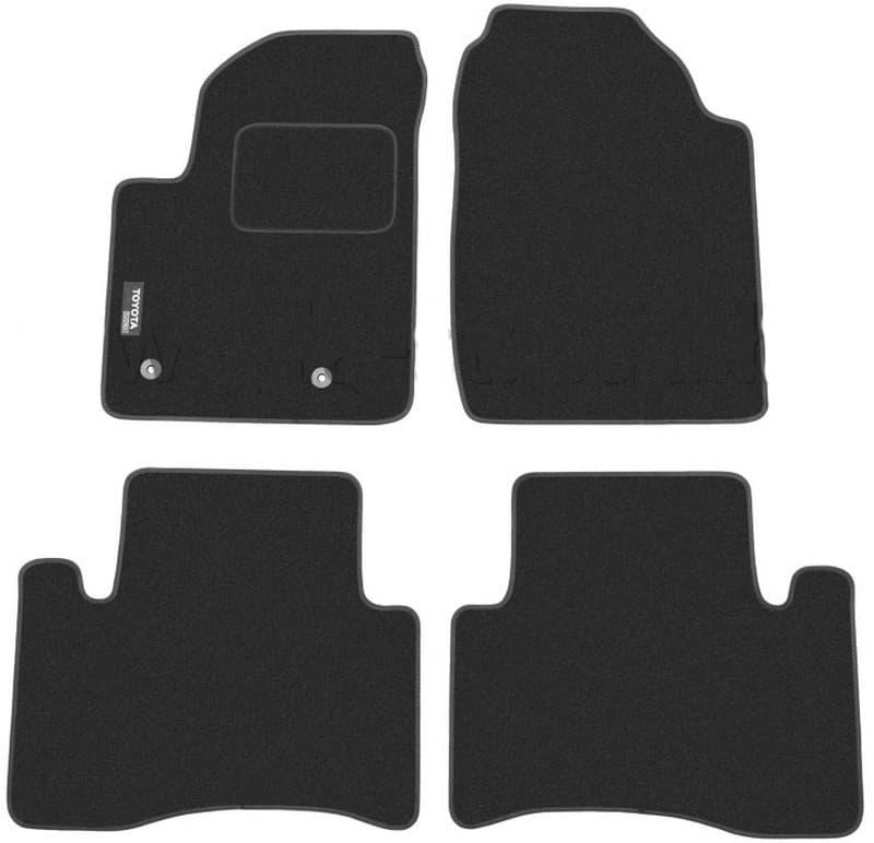 Ковры ворсовые для Toyota Avensis Verso (01-09) Duomat