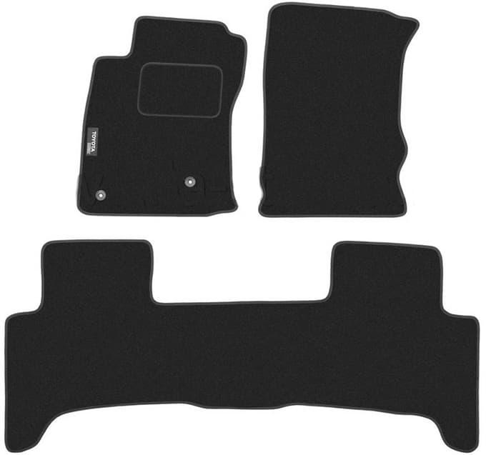 Ковры ворсовые для Toyota Land Cruiser Prado 120 (02-09) Duomat