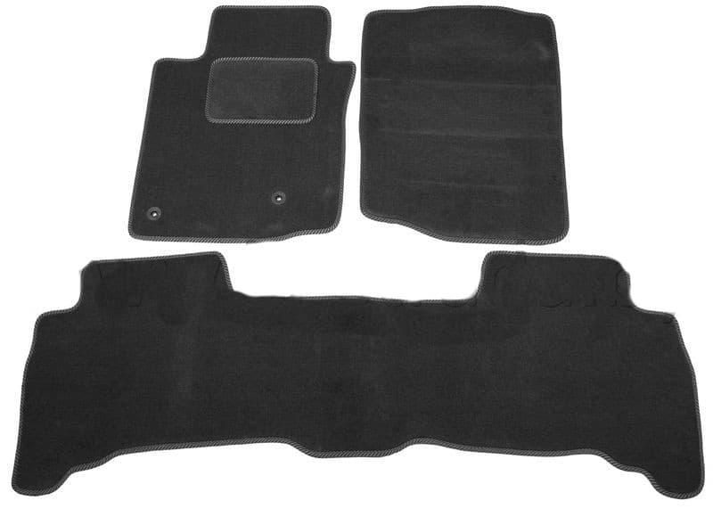 Ковры ворсовые для Toyota Land Cruiser Prado 150 (09-13) Duomat