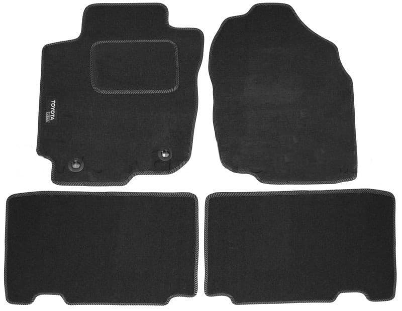 Ковры ворсовые для Toyota RAV4 IV (12-) Duomat