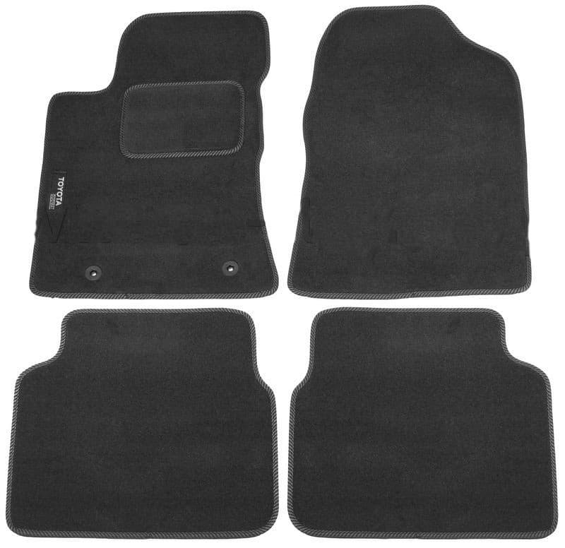 Ковры ворсовые для Toyota Avensis II (01-08) Duomat
