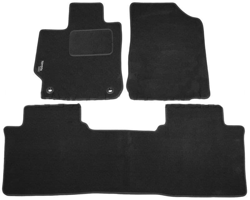 Ковры ворсовые для Toyota Camry VII V50 (11-) Duomat
